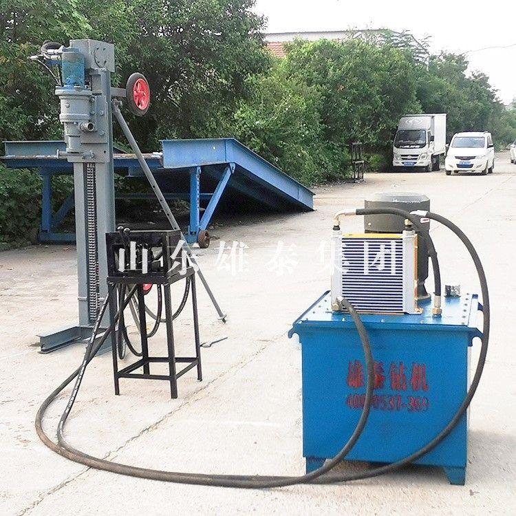 Multi-angle hydraulic drilling machine