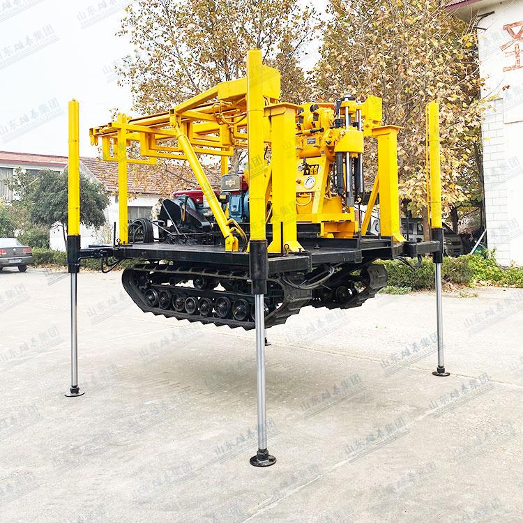 山东雄泰集团BZ-200型履带龙门架雷竞技苹果版下载勘探雷竞技ios下载的适用范围及特点