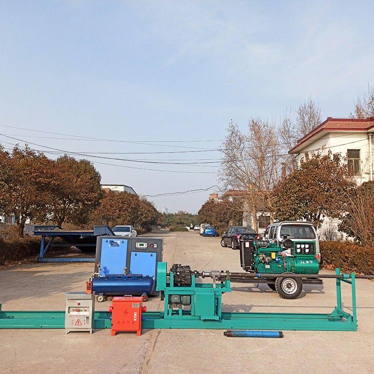 横向山泉打井机的机构特点有哪些?
